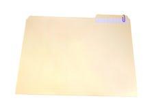 ψαλιδίστε το έγγραφο γραμματοθηκών στοκ εικόνες