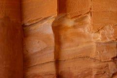 ψαμμίτης PETRA της Ιορδανίας Στοκ φωτογραφίες με δικαίωμα ελεύθερης χρήσης