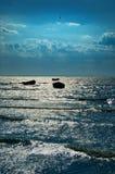 ψαράδες βαρκών Στοκ εικόνες με δικαίωμα ελεύθερης χρήσης