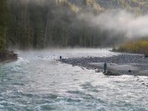 ψαράδες τέσσερα Στοκ φωτογραφία με δικαίωμα ελεύθερης χρήσης