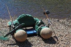 ψαράς ανεμιστήρων εξοπλισμού Στοκ εικόνα με δικαίωμα ελεύθερης χρήσης