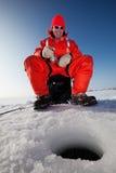 ψαράς ευτυχής Στοκ φωτογραφία με δικαίωμα ελεύθερης χρήσης