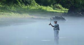 Ψαράς μυγών Στοκ φωτογραφία με δικαίωμα ελεύθερης χρήσης