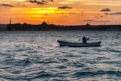 ψαράς παλαιός Στοκ εικόνες με δικαίωμα ελεύθερης χρήσης