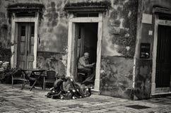 ψαράς παλαιός Στοκ Φωτογραφία