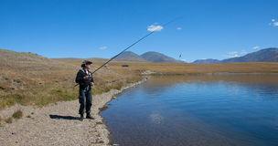ψαράς στοκ φωτογραφία