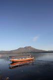 ψαράς 4 βαρκών παραδοσιακό&si Στοκ εικόνα με δικαίωμα ελεύθερης χρήσης