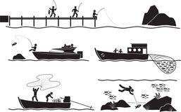 Ψαράς Στοκ Εικόνα