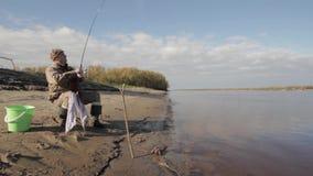Ψαράς απόθεμα βίντεο