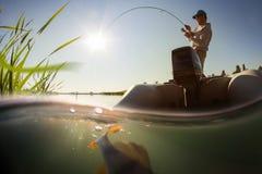 Ψαράς Στοκ Εικόνες