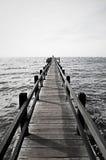 ψαράς s αποβαθρών Στοκ Φωτογραφίες
