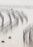 Ψαράδες εν πλω Στοκ φωτογραφία με δικαίωμα ελεύθερης χρήσης