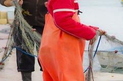 Ψαράδες καθαροί Στοκ Εικόνα
