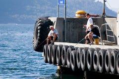Ψαράδες, Νορβηγία Στοκ εικόνες με δικαίωμα ελεύθερης χρήσης