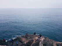 Ψαράδες στο Κασκάις Στοκ φωτογραφίες με δικαίωμα ελεύθερης χρήσης