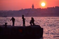 ψαράδες Στοκ εικόνα με δικαίωμα ελεύθερης χρήσης