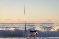 Ψαράδες Charit στην ανατολή Στοκ εικόνες με δικαίωμα ελεύθερης χρήσης