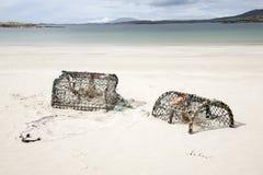 Ψαροκόφινο αστακών, παραλία Glassillaun  Φιορδ Killary  Connemara Natio Στοκ φωτογραφία με δικαίωμα ελεύθερης χρήσης