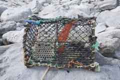 Ψαροκόφινο αστακών, Inishmore  Νησιά Aran Στοκ φωτογραφία με δικαίωμα ελεύθερης χρήσης