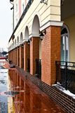 Ψαροχώρι - εθνογραφικό, εμπορικό και βιοτεχνίας κέντρο. Kaliningrad (μέχρι το 1946 Koenigsberg), Ρωσία Στοκ φωτογραφία με δικαίωμα ελεύθερης χρήσης