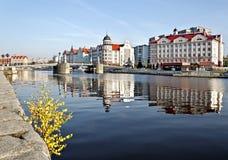 Ψαροχώρι - εθνογραφικό κέντρο. Kaliningrad (πριν το 1946 Koenigsberg), Ρωσία Στοκ Εικόνες