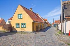 Ψαροχώρι με τα σπίτια του 16ου αιώνα Στοκ Φωτογραφία