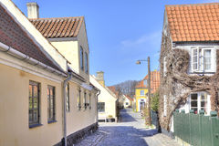 Ψαροχώρι με τα σπίτια του 16ου αιώνα Στοκ φωτογραφίες με δικαίωμα ελεύθερης χρήσης