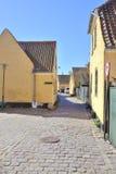 Ψαροχώρι με τα σπίτια του 16ου αιώνα Στοκ Φωτογραφίες