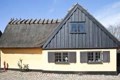 Ψαροχώρι με τα σπίτια του 16ου αιώνα Στοκ Εικόνες