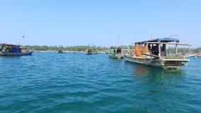Ψαροχώρι Gyeiktaw στο Μιανμάρ απόθεμα βίντεο