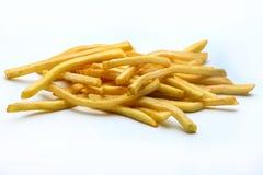 ψαλιδίζοντας απομονωμένο εικόνα μονοπάτι τηγανιτών πατατών στοκ φωτογραφία με δικαίωμα ελεύθερης χρήσης