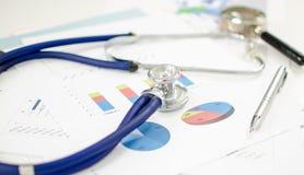 ψαλιδίζοντας οικονομικό συμπεριλαμβανόμενο υγεία μονοπάτι Στοκ Εικόνα