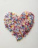 Ψεκάστε την καρδιά Στοκ Φωτογραφία