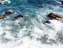 Ψεκασμός αφρού και θάλασσας Στοκ Φωτογραφία