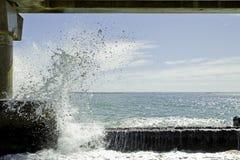 Ψεκασμός θάλασσας Στοκ Εικόνες