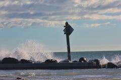 Ψεκασμός θάλασσας Στοκ Φωτογραφίες