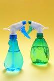 ψεκασμός μπουκαλιών Στοκ εικόνες με δικαίωμα ελεύθερης χρήσης