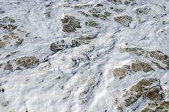 Ψεκασμός των κυμάτων θάλασσας Στοκ εικόνες με δικαίωμα ελεύθερης χρήσης