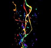 ψεκασμός χρωμάτων στοκ εικόνες