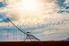 Ψεκαστήρας νερού άρδευσης Στοκ εικόνα με δικαίωμα ελεύθερης χρήσης