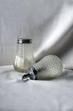 Ψεκαστήρες ζάχαρης στο λευκό στοκ φωτογραφίες με δικαίωμα ελεύθερης χρήσης
