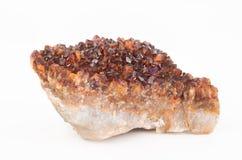 Ψευδοτοπαζιακό κρύσταλλο χαλαζία Στοκ Φωτογραφία