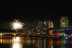 ψεύτικα πυροτεχνήματα πα&rh Στοκ Φωτογραφίες