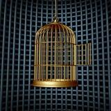 Ψεύτικη ελευθερία διανυσματική απεικόνιση