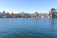 Ψεύτικοι κολπίσκος και νησί Granville Στοκ εικόνες με δικαίωμα ελεύθερης χρήσης