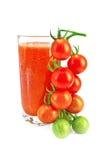 ψηλή ντομάτα χυμού γυαλι&omicron Στοκ Εικόνα