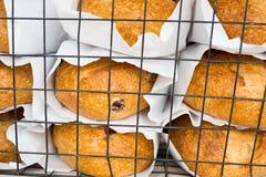 Ψημένα αγαθά για την πώληση στην αγορά αγροτών Στοκ Φωτογραφίες