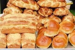 Ψημένα αγαθά και ψωμί Στοκ εικόνες με δικαίωμα ελεύθερης χρήσης