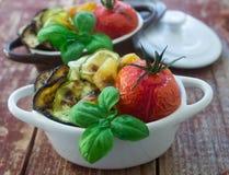 ψημένα λαχανικά Στοκ Φωτογραφίες