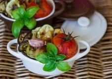 ψημένα λαχανικά Στοκ εικόνα με δικαίωμα ελεύθερης χρήσης